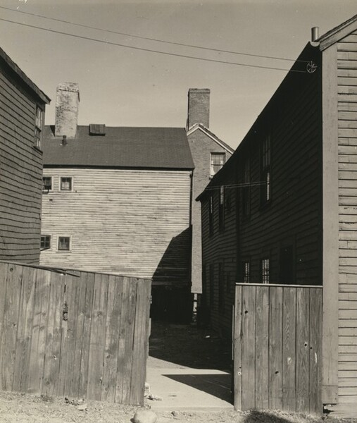 Fence and Buildings