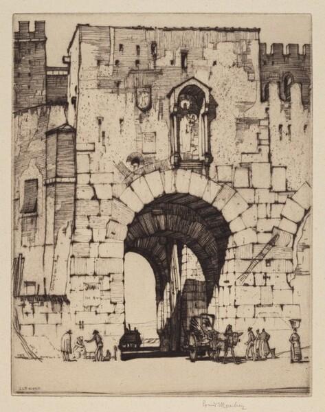 Porta Ostiense, Rome