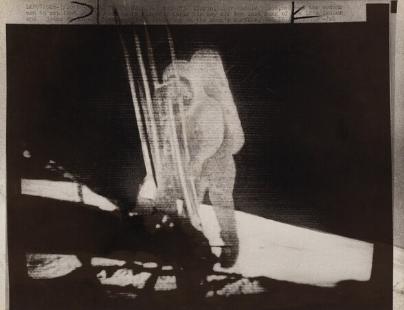 Buzz Aldrin, Lunar Module Pilot, Becomes the Second Man to Set Foot on the Moon…