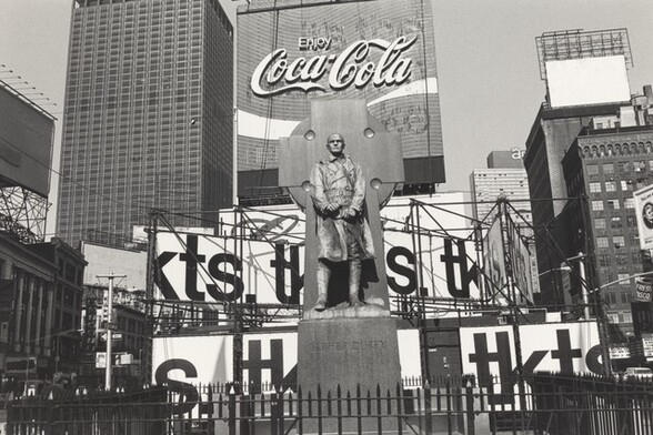 Father Duffy. Times Square, New York, New York