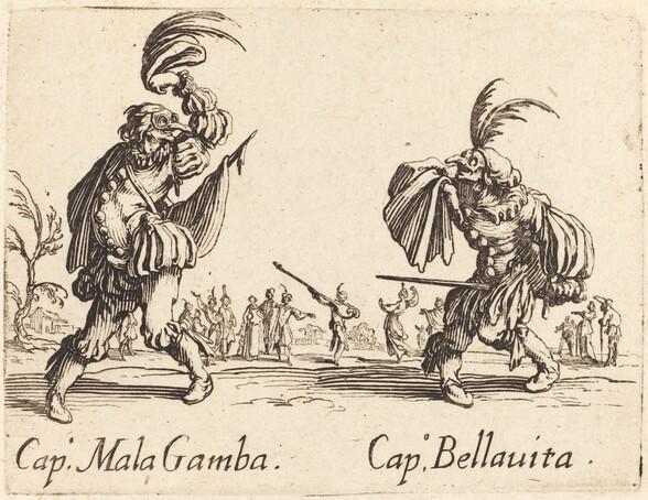 Cap. Mala Gamba and Cap. Bellavita