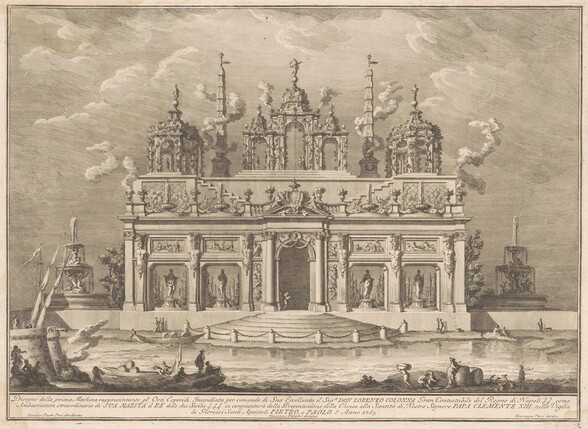 The Prima Macchina for the Chinea of 1765: The Garden of the Hesperides