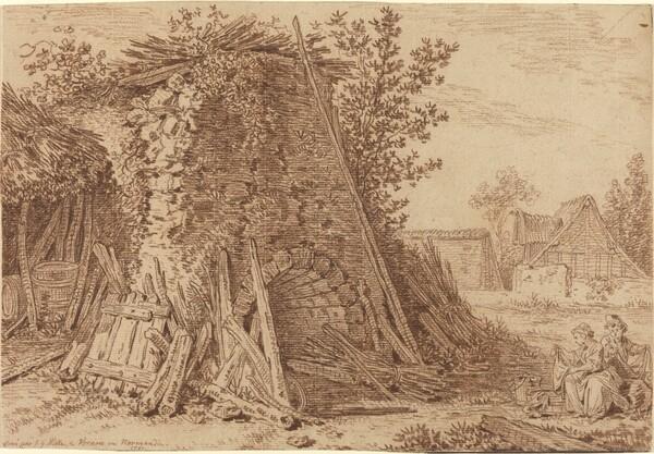 A Rustic Kiln at Vernon