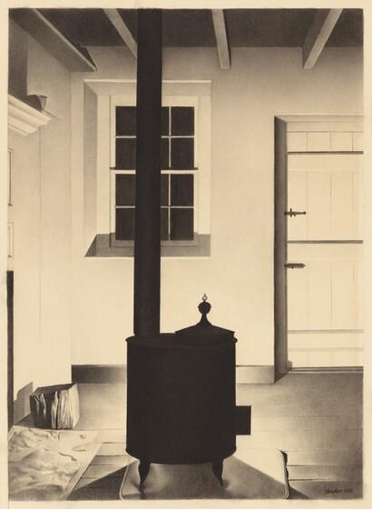 Charles Sheeler, Interior with Stove, 1932