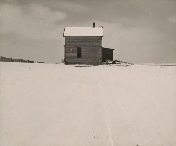 House in Winter, near Lincoln, Nebraska