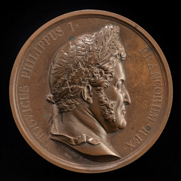 Louis Philippe, 1773-1850, King of the French 1830-1848 [obverse]