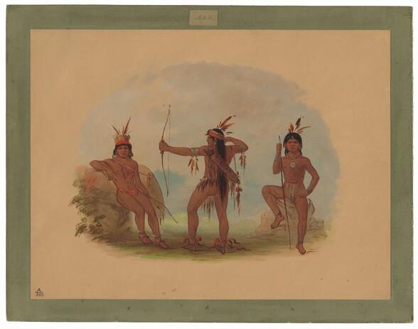 Three Woyaway Indians
