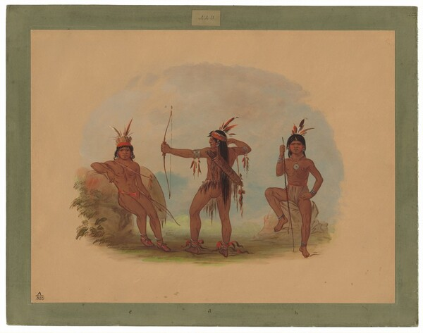 Three Woyaway Indians