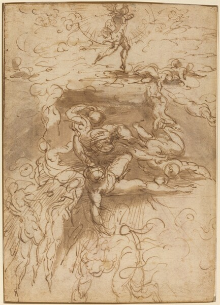 The Fall of the Rebel Angels [recto]