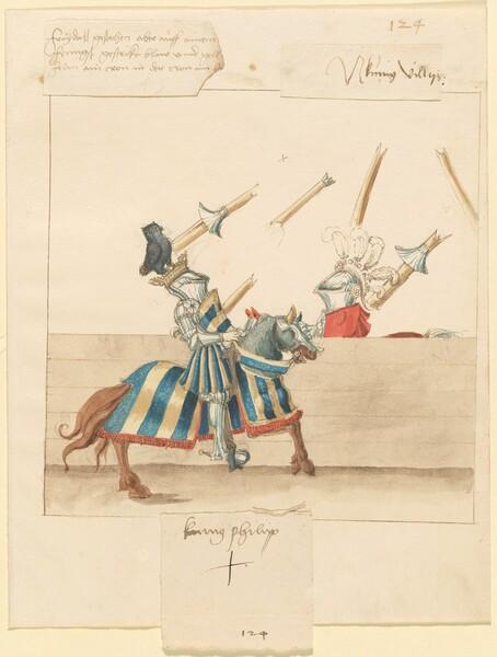 Freydal, The Book of Jousts and Tournament of Emperor Maximilian I: Combats on Horseback (Jousts)(Volume II): Kunig Philip