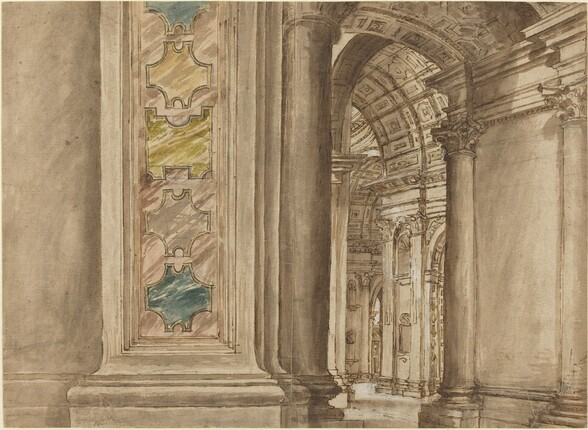 The Interior of Saint Peter