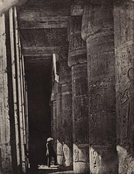 Thèbes, Medinet Habou, Galeries du Palais (Palace Galleries at Medinet Habou, Thebes)