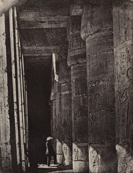 Thèbes, Medinet Habou, Galeries du Palais (Palace Galleries at Medinet Habou, Thebes)
