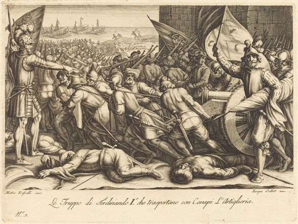 The Re-embarkation of the Troops