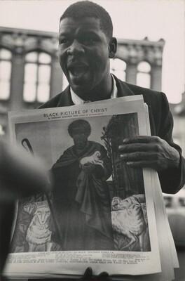 Gordon Parks, Soapbox Orator, Harlem, New York, 19521952