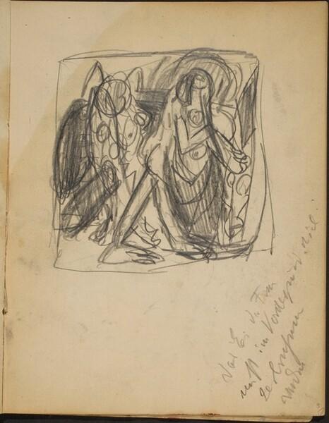 Skizze für Frühe Menschen (Sketch for Early Men) [p. 9]