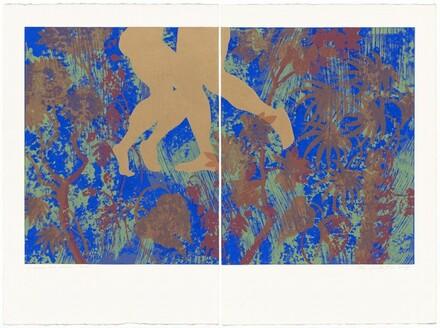 Kay WalkingStick, Allan Edmunds, Experimental Printmaking Institute, il sogno del cortile (The Courtyard Dream), 2004