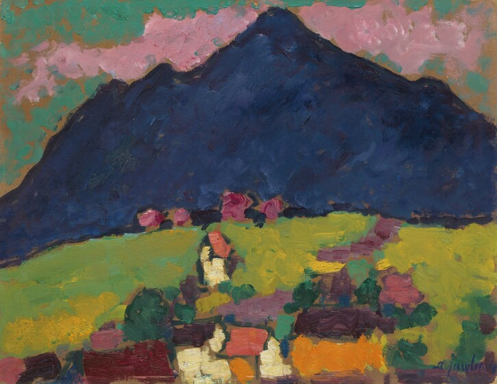 <p>Alexej von Jawlensky, Murnau, 1910