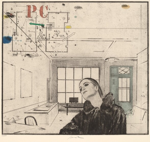 Print Club Interior