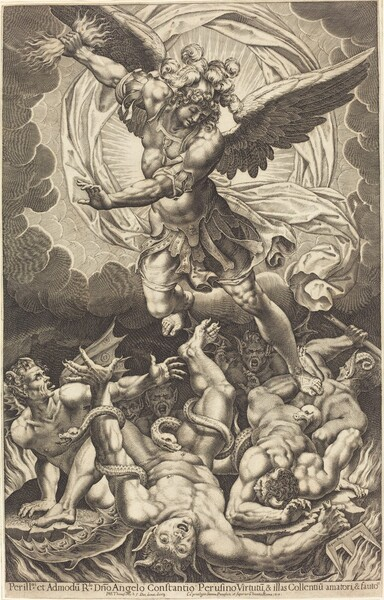 The Fall of the Rebellious Angels