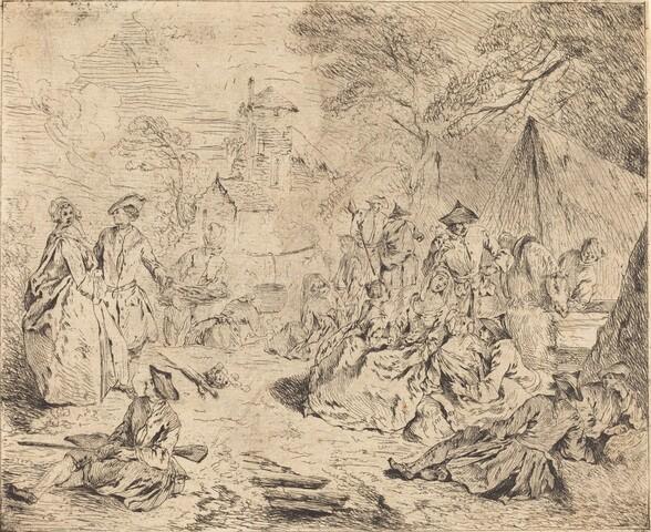 Troops Resting