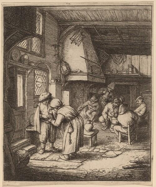 Peasant Settling His Debt