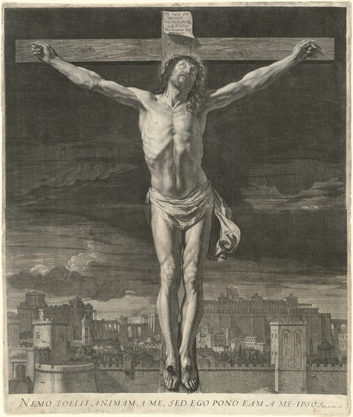 Christ Dying on the Cross