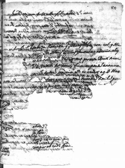 ASR, TNC, uff. 15, 1624, pt. 1, vol. 99, fol. 84r