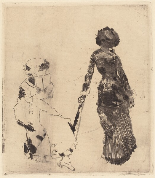 Mary Cassatt at the Louvre: The Etruscan Gallery