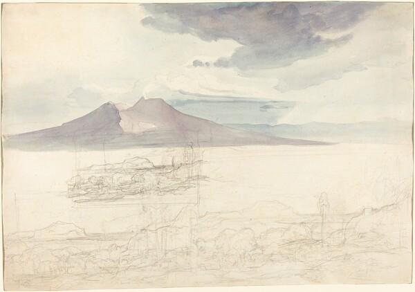 Panoramic Views of Vesuvius and Monte Pellegrino