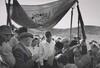Jewish Orthodox Wedding under Improvised Canopy, Israel