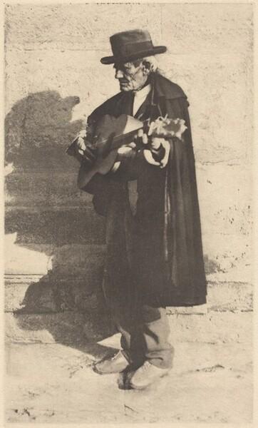 A Blind Musician - Granada