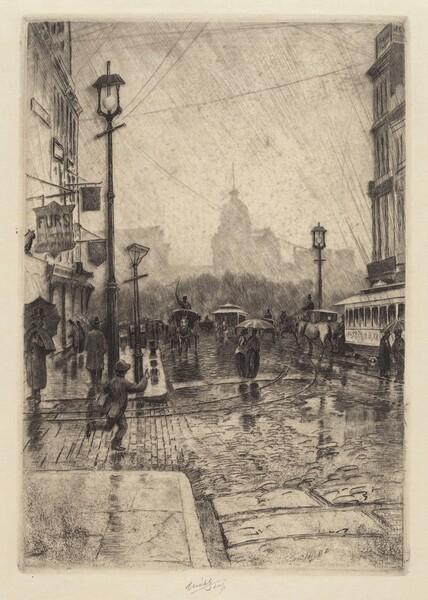 Rainy Day, Broadway