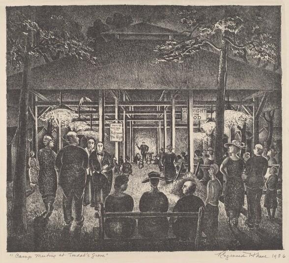 Camp Meeting at Tindal
