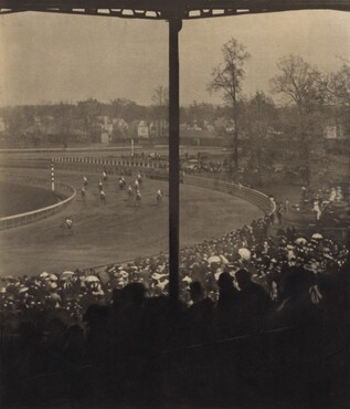 image: Going to the Post, Morris Park