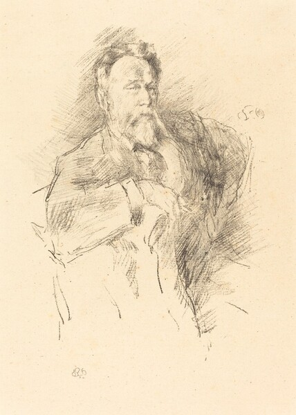 Sketch of William E. Henley