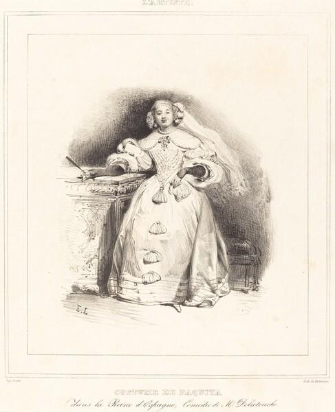 Costume de Paquita dans la Reine d