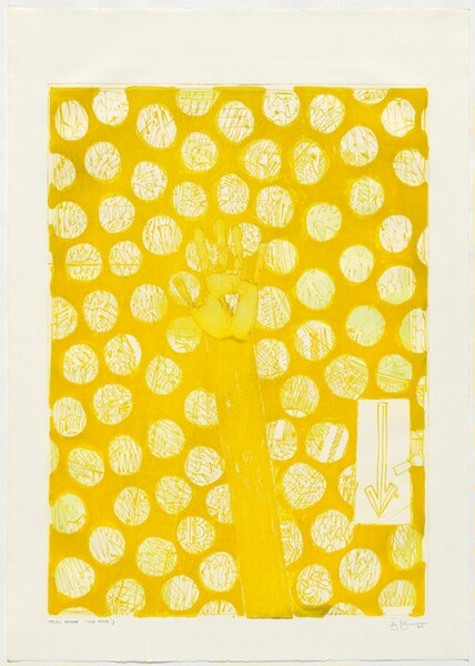 Untitled (Yellow) [trial proof 2nd state]