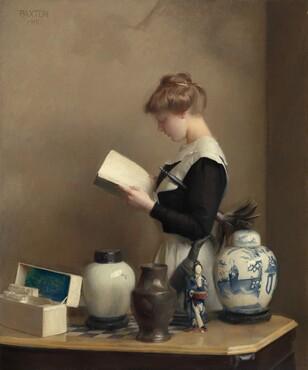 William McGregor Paxton, The House Maid, 19101910