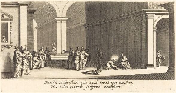 Christ Washing the Apostles