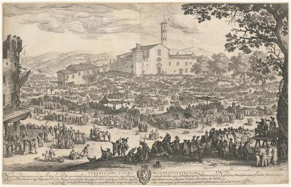 The Fair at Impruneta