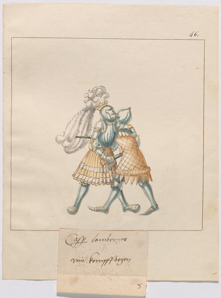 Freydal, The Book of Jousts and Tournament of Emperor Maximilian I: Combats on Foot (Jousts)(Volume III): Plate 172