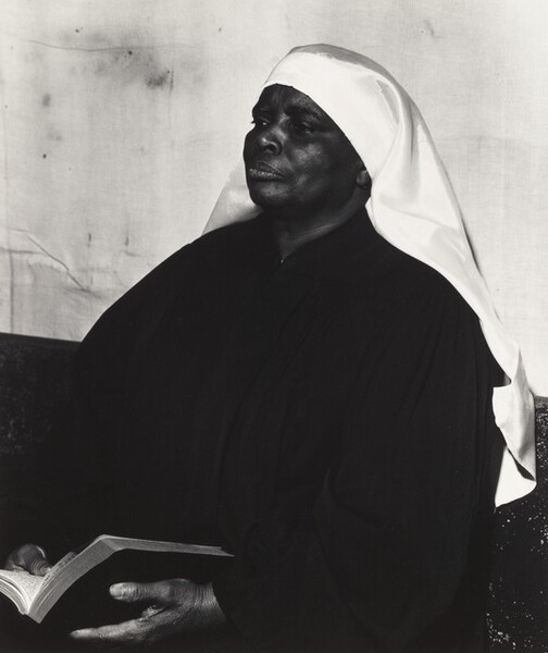 Mother Green with Bible (Storefront Churches series)