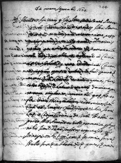 ASR, TNC, uff. 15, 1624, pt. 3, vol. 101, fol. 244r