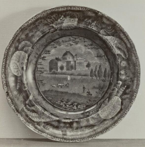Plate - The Capitol, Washington