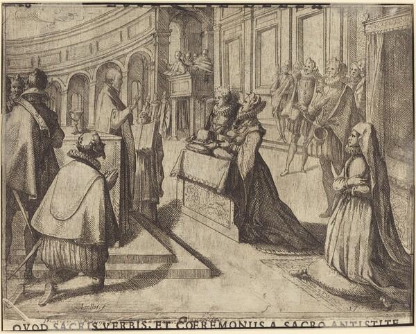 Marriage of Margaret of Austria and Philip III [verso]