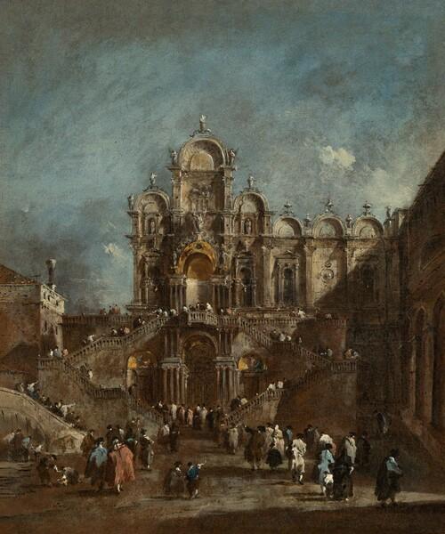 Temporary Tribune in the Campo San Zanipolo, Venice