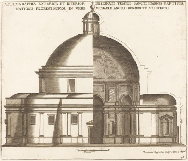 Section of the Church of Saint John the Baptist