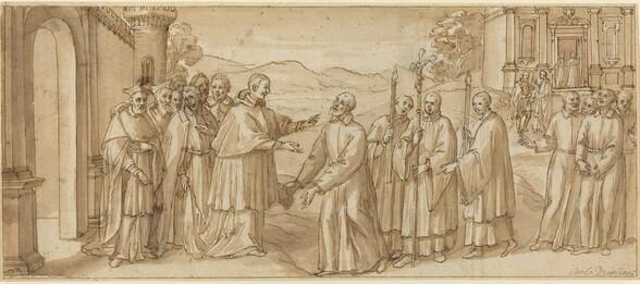 The Meeting of San Carlo Borromeo and San Filippo Neri