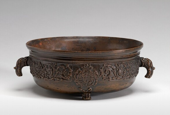 Bowl with a Shield of Arms